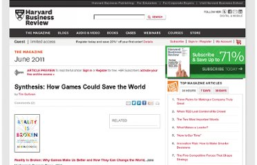http://hbr.org/2011/06/synthesis-how-games-could-save-the-world/ar/1