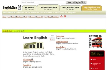 http://www.englishclub.com/learn-english.htm