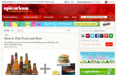http://www.epicurious.com/articlesguides/drinking/beer/beerpairings