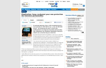 http://www.rtbf.be/info/medias/detail_playstation-sony-condamne-pour-non-protection-des-donnees-personnelles?id=7914076