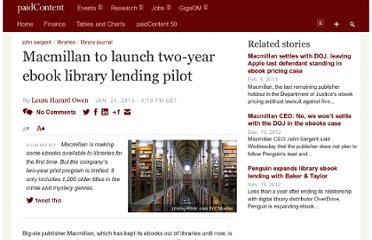 http://paidcontent.org/2013/01/24/macmillan-to-launch-two-year-ebook-library-lending-pilot/