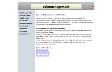 http://www.colormanagement.org/index_de.html