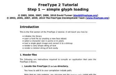 http://freetype.sourceforge.net/freetype2/docs/tutorial/step1.html