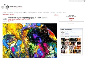 http://www.mymodernmet.com/profiles/blogs/otherworldly-macrophotography-of-paint-and-ice/