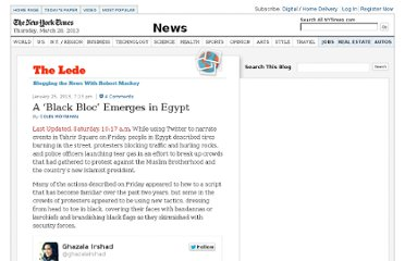 http://thelede.blogs.nytimes.com/2013/01/25/a-black-bloc-emerges-in-egypt/