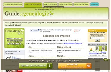 http://www.guide-genealogie.com/guide/adresses_eveches.html