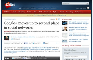 http://www.zdnet.com/google-moves-up-to-second-place-in-social-networks-7000010372/