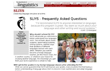http://www.ling.ohio-state.edu/sliys/faq.php