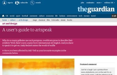 http://www.guardian.co.uk/artanddesign/2013/jan/27/users-guide-international-art-english