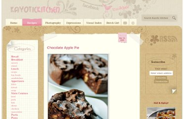 http://www.kayotic.nl/blog/chocolate-apple-pie