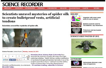 http://www.sciencerecorder.com/news/scientists-unravel-mysteries-of-spider-silk-to-create-bulletproof-vests-artificial-tendons/