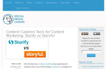 http://socialmediachimps.com/platforms/content-curation-tools-for-content-marketing-storify-vs-storyful/