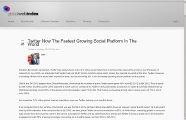 http://globalwebindex.net/thinking/twitter-now-the-fastest-growing-social-platform-in-the-world/