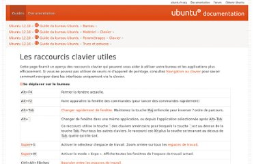 http://guide.ubuntu-fr.org/desktop/shell-keyboard-shortcuts.html
