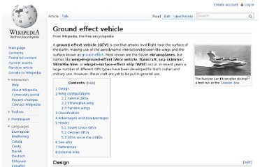 http://en.wikipedia.org/wiki/Ground_effect_vehicle