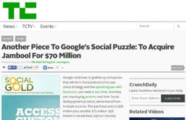 http://techcrunch.com/2010/08/09/google-aquires-jambool-social-gold/