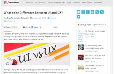 http://www.graphicmania.net/whats-the-difference-between-ui-and-ux/