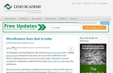 http://www.lendacademy.com/microfinance-goes-bad-in-india/
