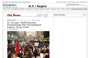 http://cityroom.blogs.nytimes.com/2013/01/28/in-occupy-well-educated-professionals-far-outnumbered-jobless-study-finds/