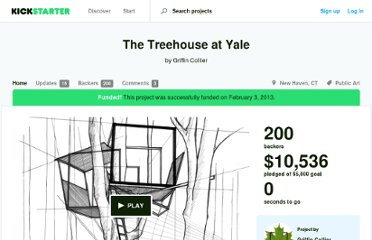 http://www.kickstarter.com/projects/922265371/the-treehouse-at-yale