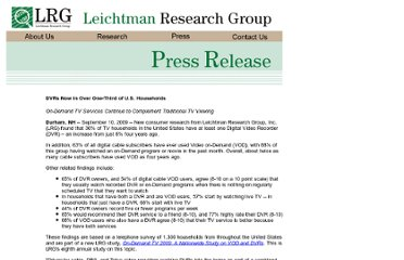 http://www.leichtmanresearch.com/press/091009release.html