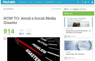 http://mashable.com/2010/08/09/prevent-social-media-disaster/