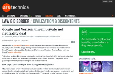 http://arstechnica.com/telecom/news/2010/08/google-verizon-unveil-net-neutrality-lite-to-government.ars