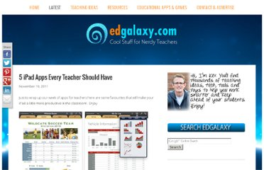 http://edgalaxy.com/journal/2011/11/19/5-ipad-apps-every-teacher-should-have.html