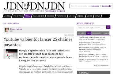 http://www.journaldunet.com/media/publishers/youtube-25-chaines-payantes-0113.shtml