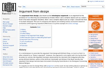 http://rationalwiki.org/wiki/Argument_from_design