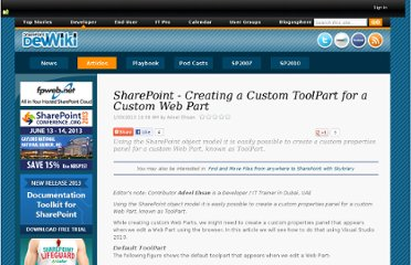 https://www.nothingbutsharepoint.com/sites/devwiki/articles/Pages/SharePoint-Creating-a-Custom-ToolPart-for-a-Custom-Web-Part.aspx