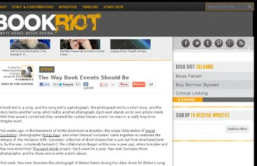 http://bookriot.com/2013/01/30/the-way-book-events-should-be/