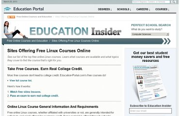 http://education-portal.com/articles/10_Sites_Offering_Free_Linux_Courses_Online.html
