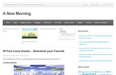 http://www.anewmorning.com/2008/07/24/30-free-linux-games-download-your-favorite/