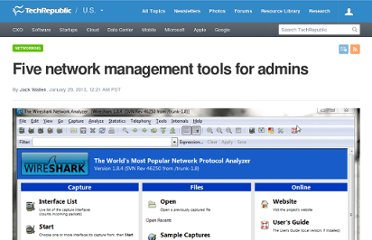 http://www.techrepublic.com/photos/five-network-management-tools-for-admins/6402012