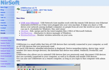 http://www.nirsoft.net/utils/usb_devices_view.html
