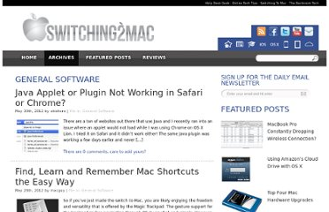 http://www.switchingtomac.com/category/tutorials/general-software/