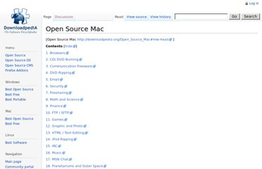 http://downloadpedia.org/Open_Source_Mac