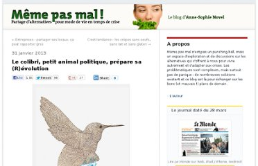 http://alternatives.blog.lemonde.fr/2013/01/31/le-colibri-petit-animal-politique-prepare-sa-revolution/