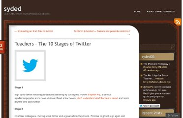 http://dedwards.me/2012/06/13/teachers-the-10-stages-of-twitter/