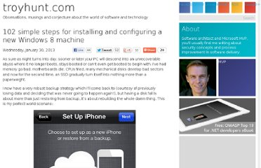 http://www.troyhunt.com/2013/01/102-simple-steps-for-installing-and.html