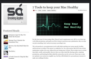 http://smokingapples.com/software/reviews/7-tools-to-keep-your-mac-healthy/
