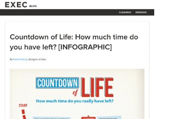 http://iamexec.com/blog/countdown-of-life-how-much-time-do-you-have-left-infographic