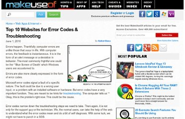 http://www.makeuseof.com/tag/top-10-websites-error-codes-troubleshooting/#more-44924