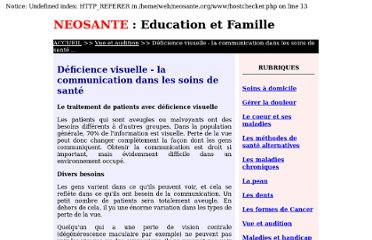 http://www.neosante.org/deficience-communication-a03075178.htm