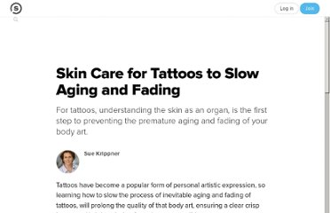 http://suite101.com/article/skin-care-for-tattoos-to-slow-aging-and-fading-a361483