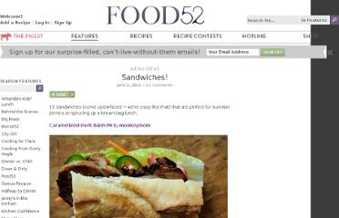 http://food52.com/blog/2129-sandwiches