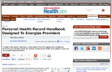 http://www.informationweek.com/healthcare/patient/personal-health-record-handbook-designed/240004576