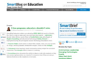 http://smartblogs.com/education/2013/01/31/5-free-programs-educators-shouldnt-miss/
