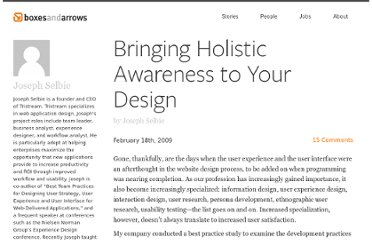 http://boxesandarrows.com/bringing-holistic-awareness-to-your-design/